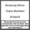 ExcluCig Silver Label Triple Menthol