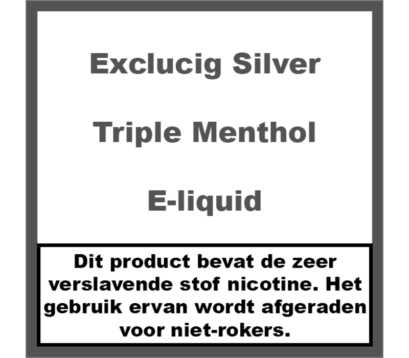 Silver Label Triple Menthol