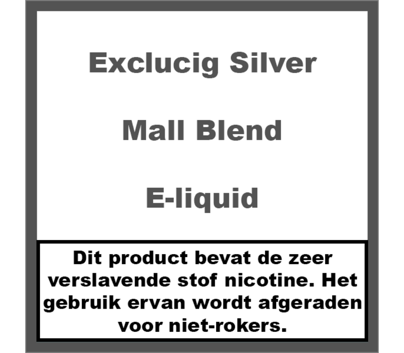 Silver Label Mall Blend