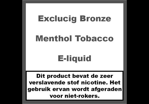 ExcluCig Bronze Label Menthol Tabak