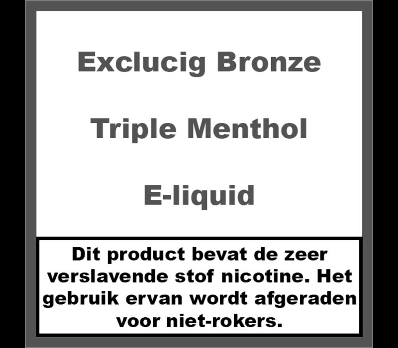 Bronze Label Triple Menthol