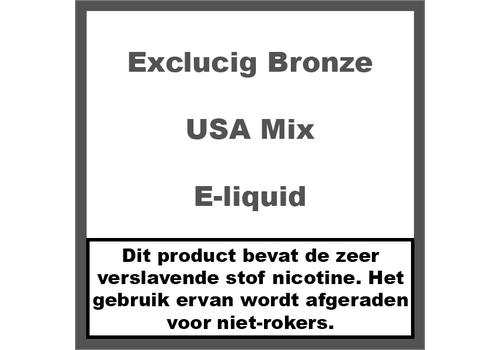 ExcluCig Bronze Label USA Mix