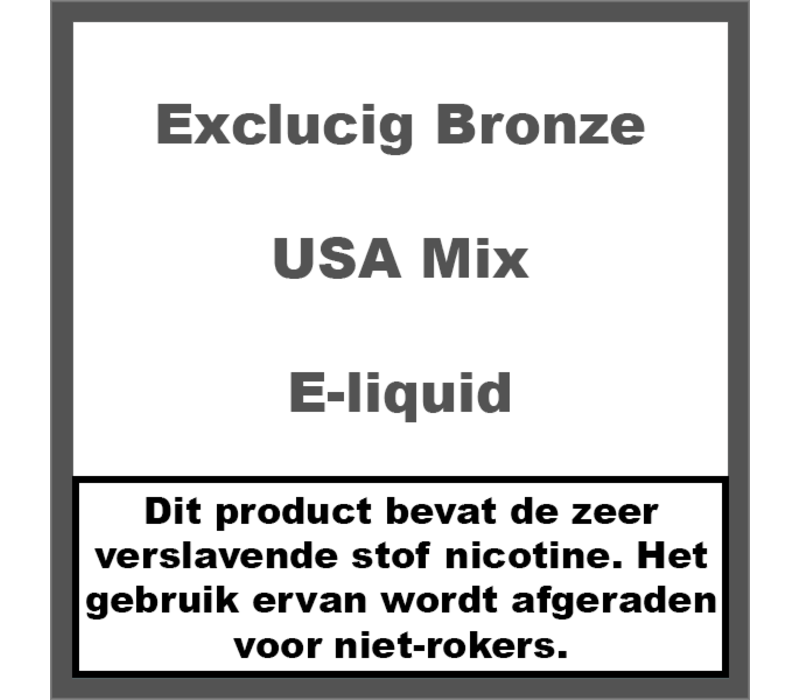 Bronze Label USA Mix