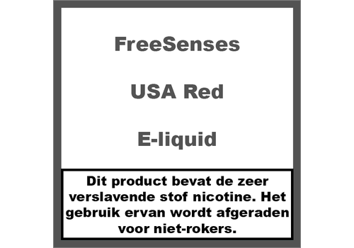 FreeSenseS USA Red