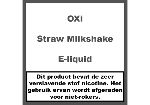 OXi Straw Milkshake