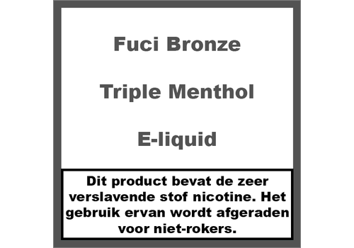 Fuci Bronze Label Triple Menthol