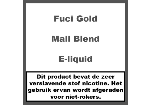 Fuci Gold Label Mall Blend