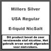 Millers Juice Silverline USA Regular NicSalt