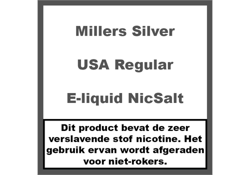 Millers Juice Silverline USA Regular NS