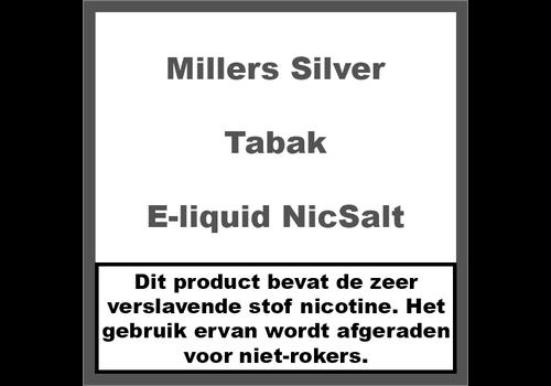 Millers Juice Silverline Tabak NS