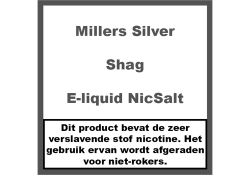 Millers Juice Silverline Shag NS