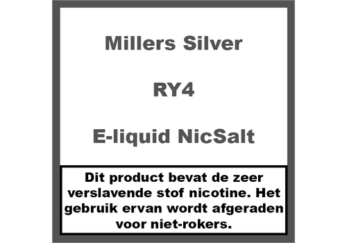 Millers Juice Silverline RY4 NS