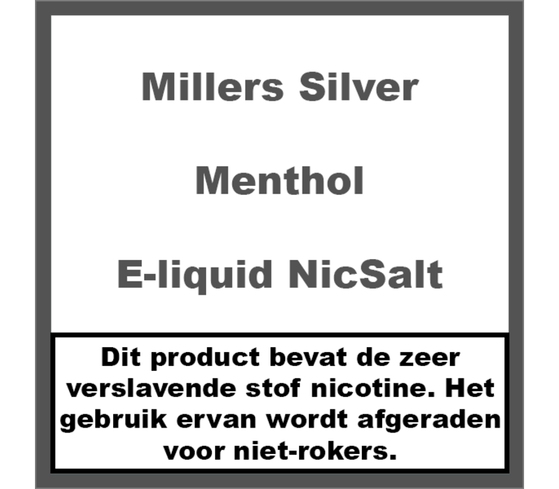 Menthol NicSalt