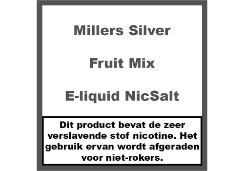 Millers Juice Silverline Fruit Mix NS