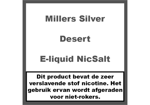 Millers Juice Silverline Desert NS