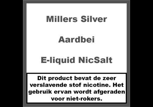 Millers Juice Silverline Aardbei NS