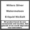 Millers Juice Silverline Watermeloen NS