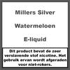 Millers Juice Silverline Watermeloen