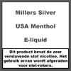 Millers Juice Silverline USA Menthol