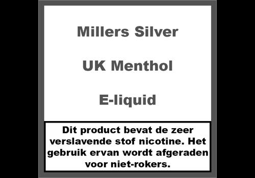 Millers Juice Silverline UK Menthol