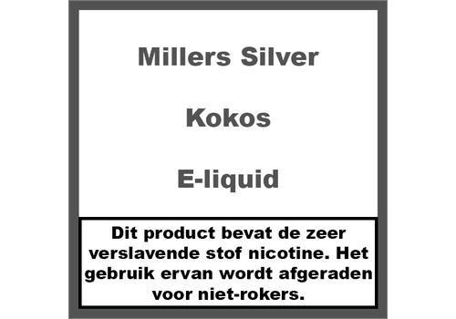 Millers Juice Silverline Kokos