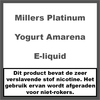 Millers Platinum Line Yogurt Amarena