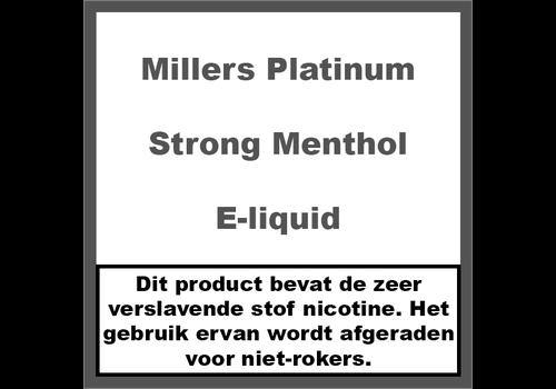 Millers Platinum Line Strong Menthol