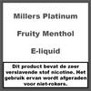 Millers Platinum Line Fruity Menthol