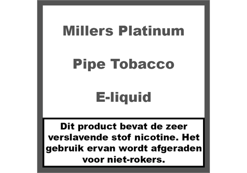 Millers Platinum Line Pipe Tobacco