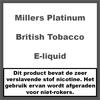 Millers Platinum Line British Tobacco