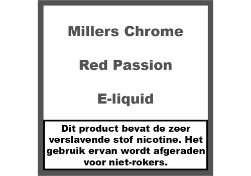 Millers Chrome Line Red Passion