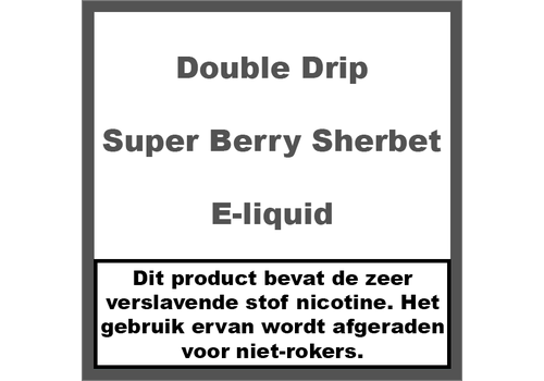 Double Drip Super Berry Sherbet