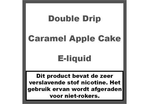 Double Drip Caramel Apple Cake