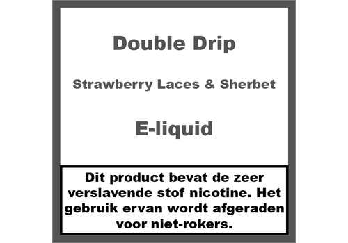 Double Drip Strawberry Laces & Sherbet
