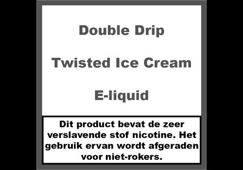 Double Drip Twisted Ice Cream
