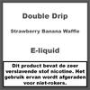 Double Drip Strawberry Banana Waffle