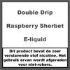 Double Drip Raspberry Sherbet