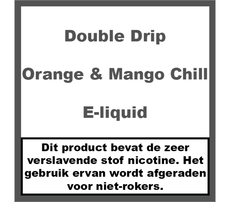 Orange & Mango Chill