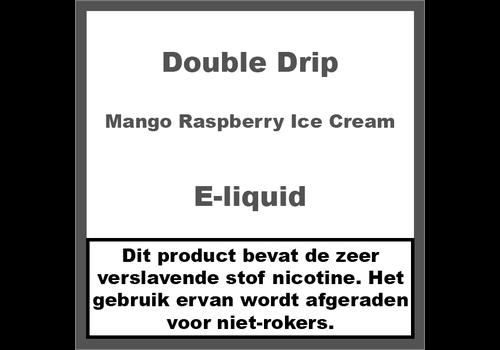 Double Drip Mango Raspberry Ice Cream