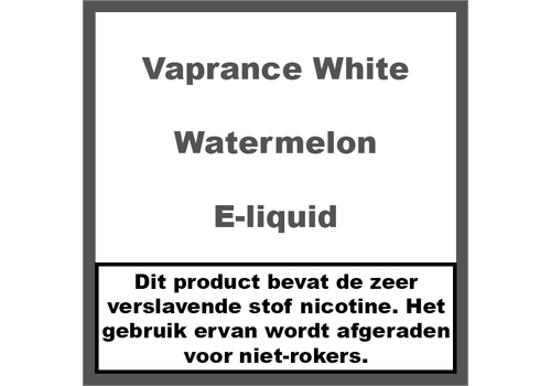 Vaprance White Label Watermelon