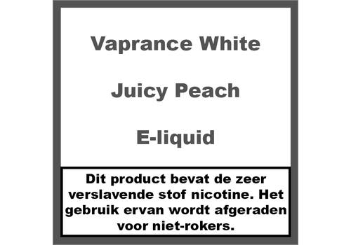 Vaprance White Label Juicy Peach