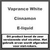 Vaprance White Label Cinnamon