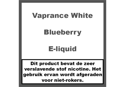 Vaprance White Label Blueberry