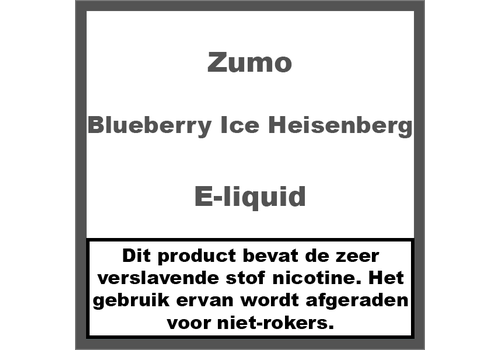 Zumo Blueberry Ice Heisenberg
