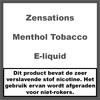 Zensations Angel Menthol Tobacco