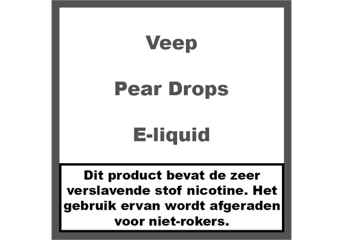 Veep Pear Drops