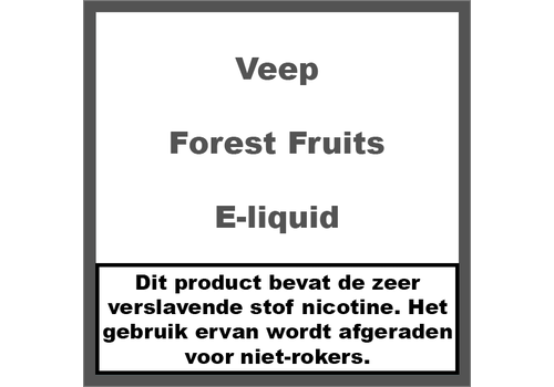 Veep Forest Fruits (50ml)