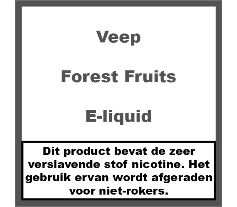 Forest Fruits (50ml)