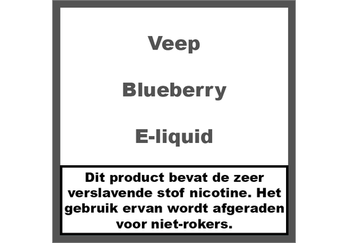 Veep Blueberry (50ml)
