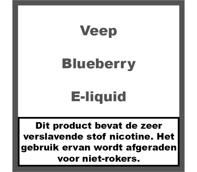 Blueberry (50ml)